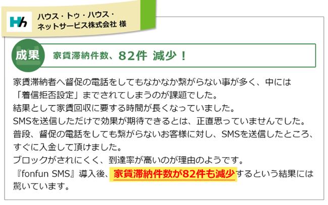成功事例ハウス・トゥ・ハウス・ネットサービス株式会社様